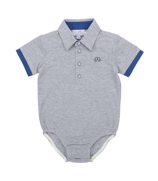 Polo Jerome Grey Fancy Blue