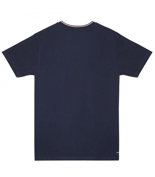 T-shirt  katoen v-hals TOM
