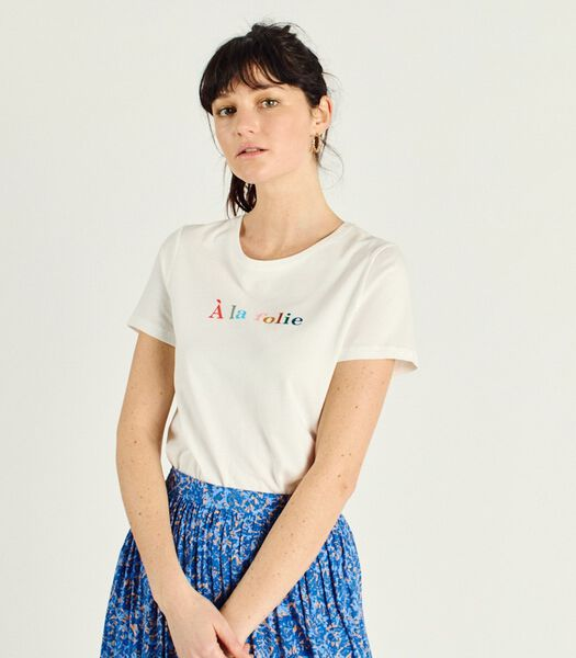 FABIAN Bedrukt T-shirt met korte mouwen