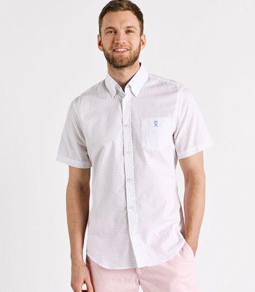 Mouwloos polka dot shirt CLIVE