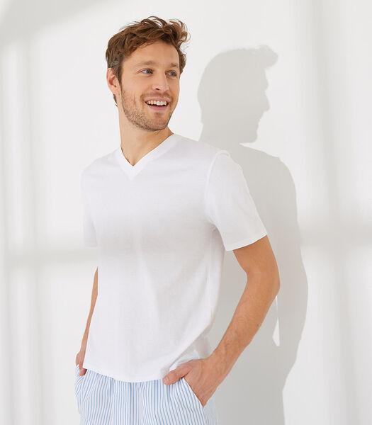 Essentiel - Homewear T-shirt met korte mouwen katoen