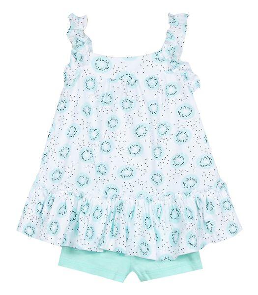 2-delige jurk en shortset