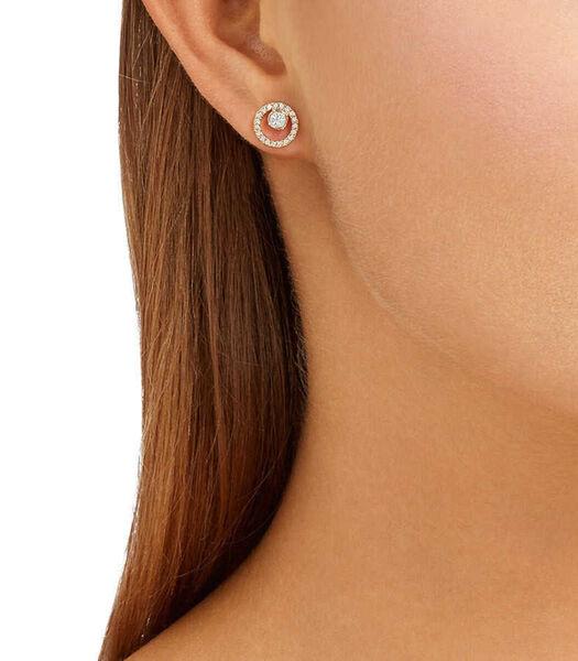 Boucles d'oreilles Argent,Or rose 5199827
