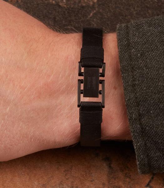 Denim Armband zwart TJ2790228S