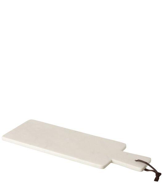 Plank Rechthoek Marmer Wit Large