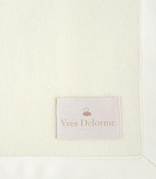 Duchesse Nacre - Deken wol kasjmier 400 g/m²
