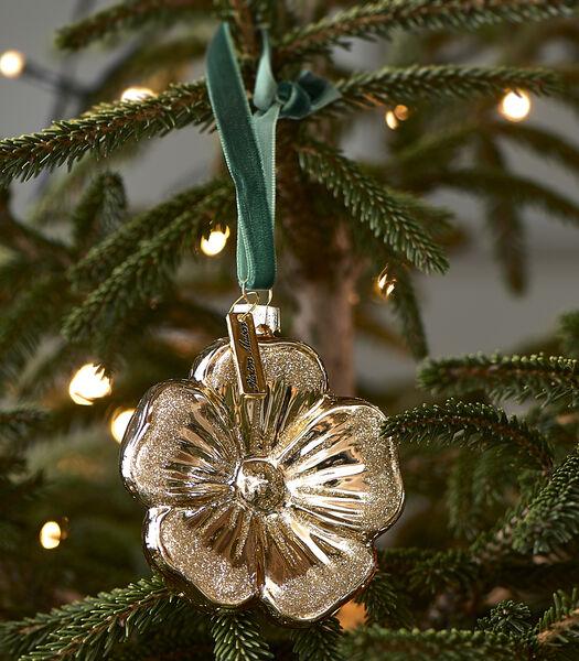 Christmas Flower Ornament gold