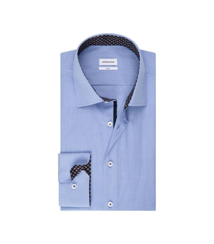 Overhemd Slim Fit Extra lange mouwen Uni image number 4