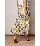 Elegante rok met kleurrijk vlindermotief image number 1