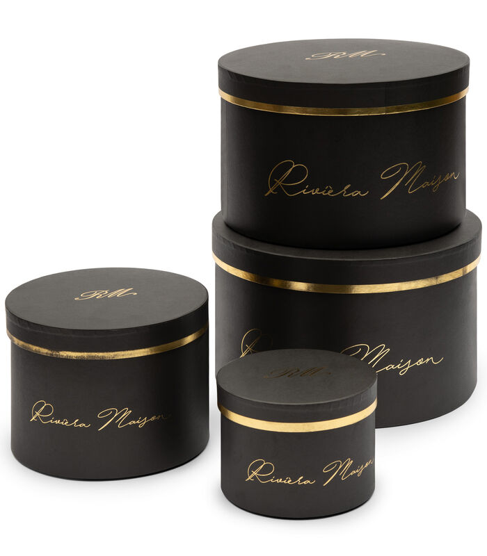 RM Giftbox black Set of 4 pieces image number 0