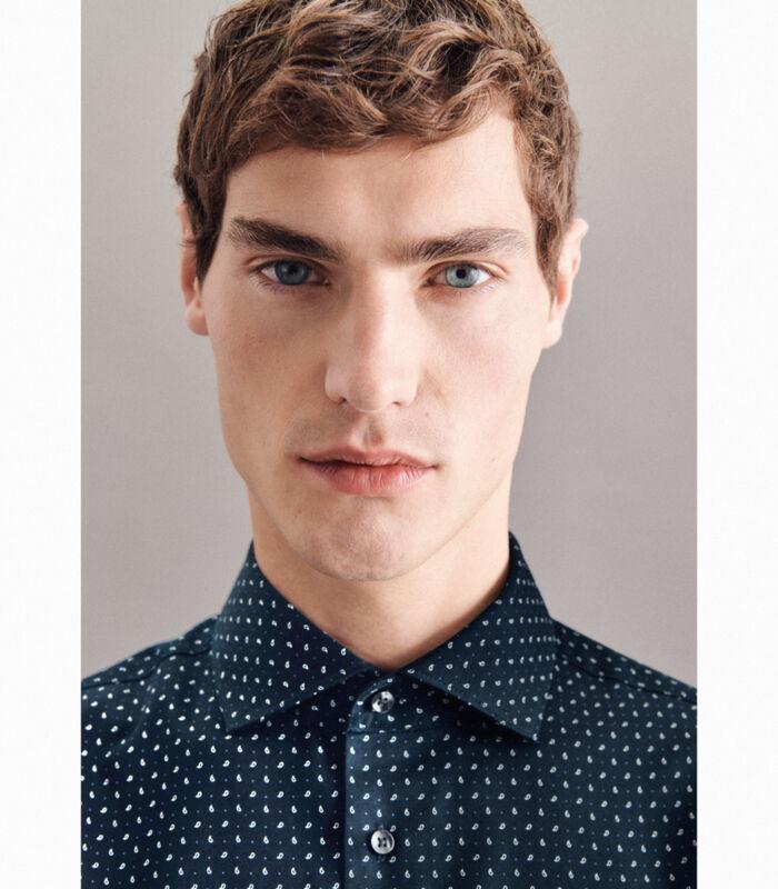 Overhemd Shaped Fit Lange mouwen Print image number 2