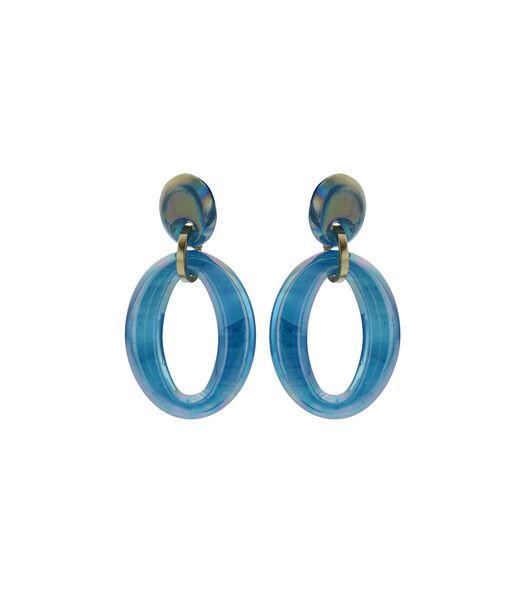 Oorbel (OB) Blauw