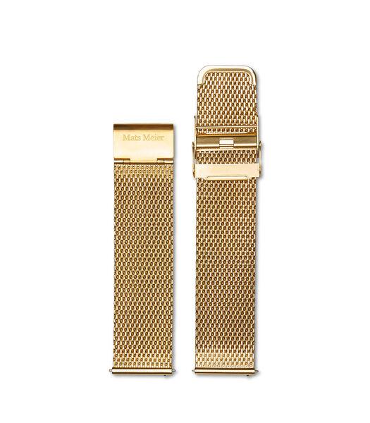 Horlogeband goudkleurig MM40005