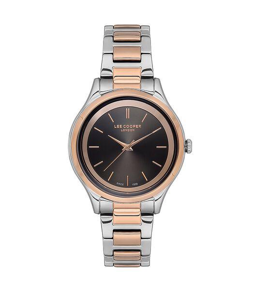 Analoog horloge met metalen armband MELYA
