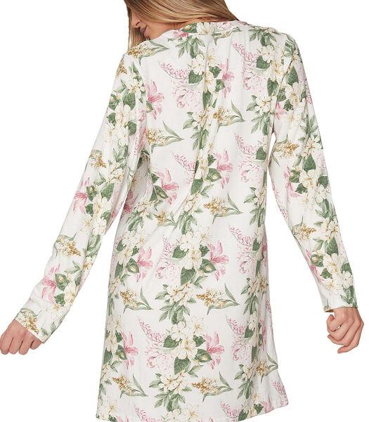 Nachthemd met lange mouwen Flower Soft