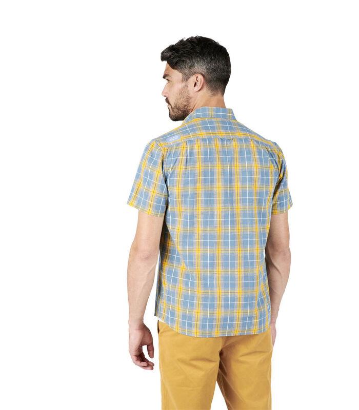 Geruit hemd met korte mouwen COSTAL image number 4