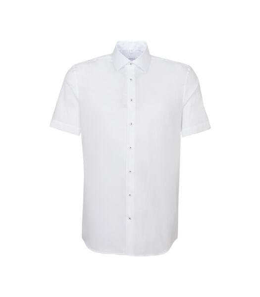 Overhemd Slim Fit Korte arm Uni