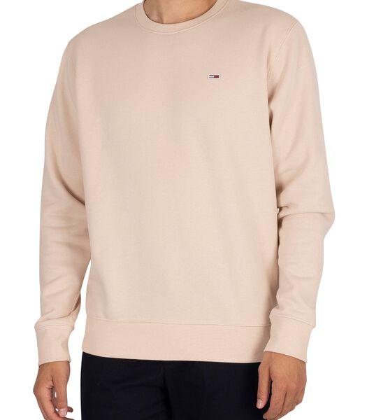 Regular fleece sweatshirt