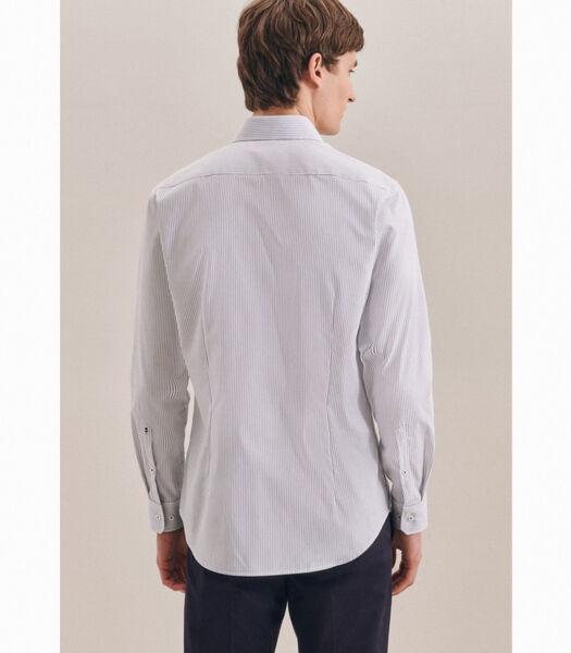 Oxfordhemd Shaped Fit Lange mouwen Strepen