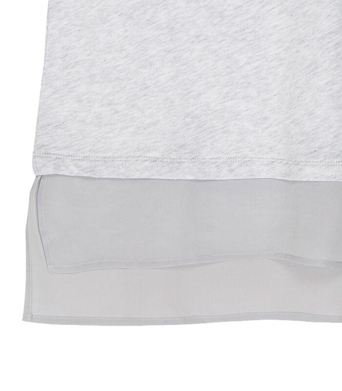 Tuniekje in jersey van katoen en zijde, MARIANNE image number 3