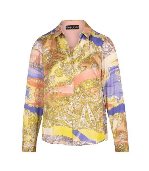Italiaans gouden overhemd DONATELLA