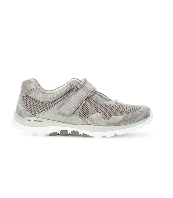 Sneakers plat textiel image number 0