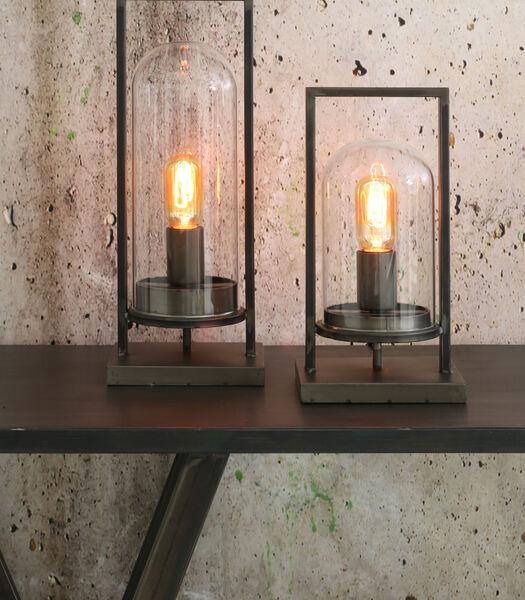 Tafellamp JURRE - antiek zwart