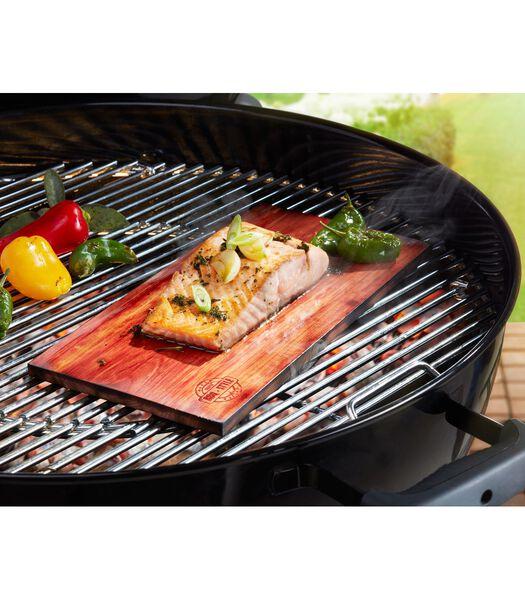 Cederhouten grillplanken BBQ, 2 stuks